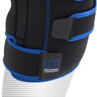 Shock Doctor Ice Recovery Compression Knee Wrap 753